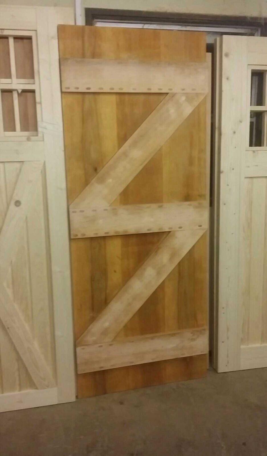 Ledge & Brace Alder Doors