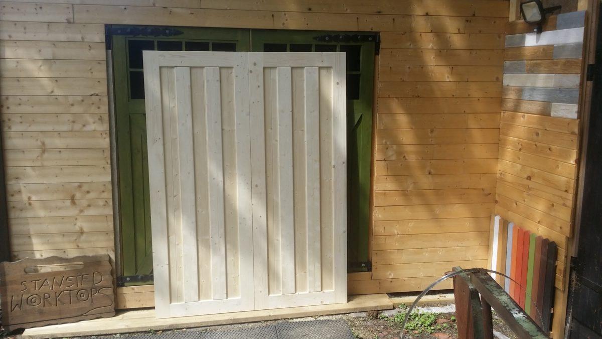 Scandanavian Style Timber Garage Doors