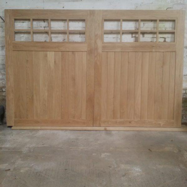 American Oak Garage Doors