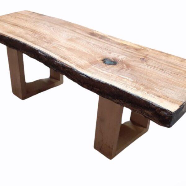 Live edge woodne coffee table